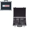 BOSCH  Set mixt 11 accesorii SDS-PLUS (cutie neagra)