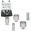 BOSCH  Set 5 carote diamantate Dry Speed 20/25/35/51/68 mm cu X-LOCK