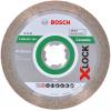 BOSCH  Disc diamantat gresie 125 BEST cu X-LOCK