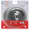 BOSCH  Set 2 discuri (Disc Optiline Wood 190x30x48T + Disc Multimaterial 190x30x54T)