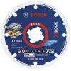 BOSCH  Disc diamantat Metal Wheel 115 mm cu X-LOCK