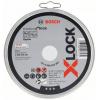 BOSCH  Set 10 discuri taiere inox 125x1 mm cu X-LOCK
