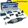 DREMEL 4000-6/128 Platinum edition Unealta multifunctionala 175W + Accesorii Speed clic