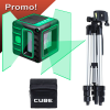 ADA CUBE 3D GREEN PROFESSIONAL EDITION Nivela laser cu linii verzi (40/70 m) + Stativ