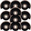 BOSCH ACZ70RT5 Set 10 panze Grout and Abrasive HM-RIFF 70 mm, R50 STARLOCK