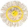 CROMWELL  Capat sintetic de mop YELLOW 200g SYNTHETIC MOPHEAD