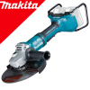 MAKITA DGA901ZKU2 Polizor unghiular brushless si wireless (230 diametru disc), 2x18V fara acumulator in set (SOLO)