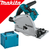 MAKITA DSP601ZJU Ferastrau prin plonjare cu bluetooth, brushless, Li-Ion, 2x18V, fara acumulator in set (SOLO) + Makpac