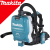 MAKITA DVC265ZXU Aspirator tip rucsac wireless Li-Ion, 2x18 V, fara acumulator in set (SOLO)