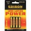 CROMWELL  Baterii alcaline AAA ALKALINE BATTERIES (Set de 4)