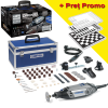 DREMEL 3000-5/75 KIT 5 STAR Unealta multifunctionala 130W + Tabla sah