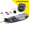 DREMEL 8220-1/5 Unealta multifunctionala cu 1 acumulator 12V, 2Ah