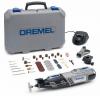 DREMEL 8220-2/45 Unealta multifunctionala cu 1 acumulator 12V, 2 Ah