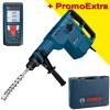 BOSCH GBH 11 DE Ciocan rotopercutor SDS-max 1500 W, 14.2 J + GLM 50 Telemetru cu laser