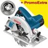 BOSCH GKS 190 Ferastrau circular 1400 W +  DISC MULTIMATERIAL 190X30X54T (FOARTE FIN)