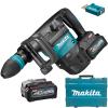 MAKITA HM001GM201 Ciocan demolator SDS-MAX brushless si wireless, cu 2 acumulatori Li-Ion, 40V XGT, 4Ah, 9.4J + Valiza
