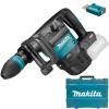 MAKITA HM001GZ02 Ciocan demolator SDS-MAX brushless si wireless, Li-Ion, 40V XGT, 9.4J, fara acumulator in set (SOLO) + Valiza