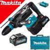 MAKITA HR005GM202 Ciocan rotopercutor SDS-MAX brushless si wireless, cu 2 acumulatori Li-Ion, 40V XGT, 4Ah, 8J + Valiza