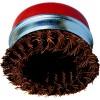 CROMWELL  Perie din alama, cu cap conic innodat si rasucit-orificiu filetat 100mmxM14