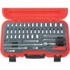 CROMWELL  Set capete tubulare inch 46 piese 1/4