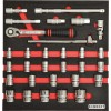 CROMWELL  Set de unelte in burete 30PCS METRIC  KEN-GRIP SOCKET SET1/2