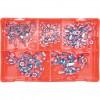CROMWELL  Trusa piulite-fluture placate cu zinc NUTS STEEL METRIC WING BZP KIT