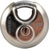 CROMWELL  Lacat tip disc din otel inoxidabil 70 mm STAINLESS STEEL DISC PADLOCKKEYED ALIKE