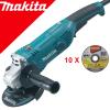 MAKITA GA5021 Polizor unghiular mic 1050 W, diametru disc 125 +  10 Discuri taiere inox B-45733