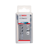 BOSCH  Set 10 burghie metal HSS PointTeQ 6.3mm