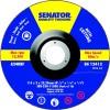 CROMWELL  Disc de taiat si polizat cu centru apasat 115 x 3 x 22.23mm A24RBF
