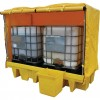 CROMWELL  Palet de varsare SPILL PALLET 2x IBC;COVERED