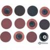 CROMWELL  Trusa de discuri cu surub cu schimbare rapida 50 mm QUICK CHANGE SURFACEPREPARATION DISC KIT (13 piese)