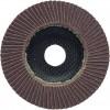 CROMWELL  Disc lamelar - Clasa oxid de aluminiu Suport din fibra de sticla 125x22 mm F/GLASS AL/OX FLAP DISC P40