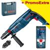BOSCH GBH 2600 Ciocan rotopercutor SDS-plus 720 W, 2.5 J + GLM 50 C Telemetru cu laser (50 m) cu Bluetooth