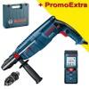 BOSCH GBH 2600 Ciocan rotopercutor SDS-plus 720 W, 2.5 J + GLM 40 Telemetru cu laser