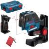 BOSCH GCL 25 Nivela laser puncte-linii + BM 1 Suport special + L-BOXX