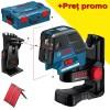 BOSCH GCL 25 + BM 1 Nivela laser puncte-linii + Suport special + L-BOXX