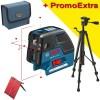 BOSCH GCL 25 + BT 150 Nivela laser puncte-linii + Trepied