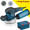 BOSCH GEX 125-150 AVE Slefuitor cu excentric 400 W + L-BOXX