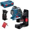 BOSCH GLL 2-80 P + BM 1 Nivela laser cu linii + Suport + L-BOXX