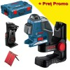 BOSCH GLL 2-80 P Nivela laser cu linii + BM 1 Suport + L-BOXX