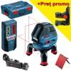 BOSCH GLL 3-50 + BM 1 + LR 2 Nivela laser cu linii + Suport + Receptor + L-BOXX