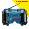 BOSCH GPB 12V-LI (SOLO) Radio Li-Ion, fara acumulator in set