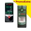 BOSCH PLR 50 C Telemetru cu laser cu Bluetooth + PMD 7 Detector de metale