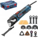 BOSCH GOP 55-36 Multicutter 550 W + Accesorii + L-BOXX