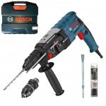 BOSCH GBH 2-28 F Ciocan rotopercutor SDS-plus 880 W, 3.2 J + Dalta + Set 3 burghie
