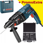 BOSCH GBH 240 Ciocan rotopercutor SDS-plus 790 W, 2.7 J +  Set mixt 11 accesorii SDS-PLUS