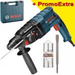 BOSCH GBH 240 Ciocan rotopercutor SDS-plus 790 W, 2.7 J +  Set 3 burghie SDS-PLUS-5X, 6/8/10mm + Dalta 250x20 mm SDS-PLUS