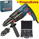 BOSCH GBH 240 F Ciocan rotopercutor SDS-plus 790 W, 2.7 J +  Set mixt 11 accesorii SDS-PLUS