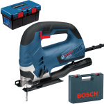 BOSCH GST 90 BE Ferastrau vertical 650 W + Cutie Toolbox PRO